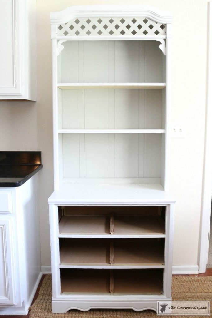 Childhood-Hutch-Makeover-4-683x1024 An Inexpensive Way to Update a Childhood Hutch DIY Painted Furniture