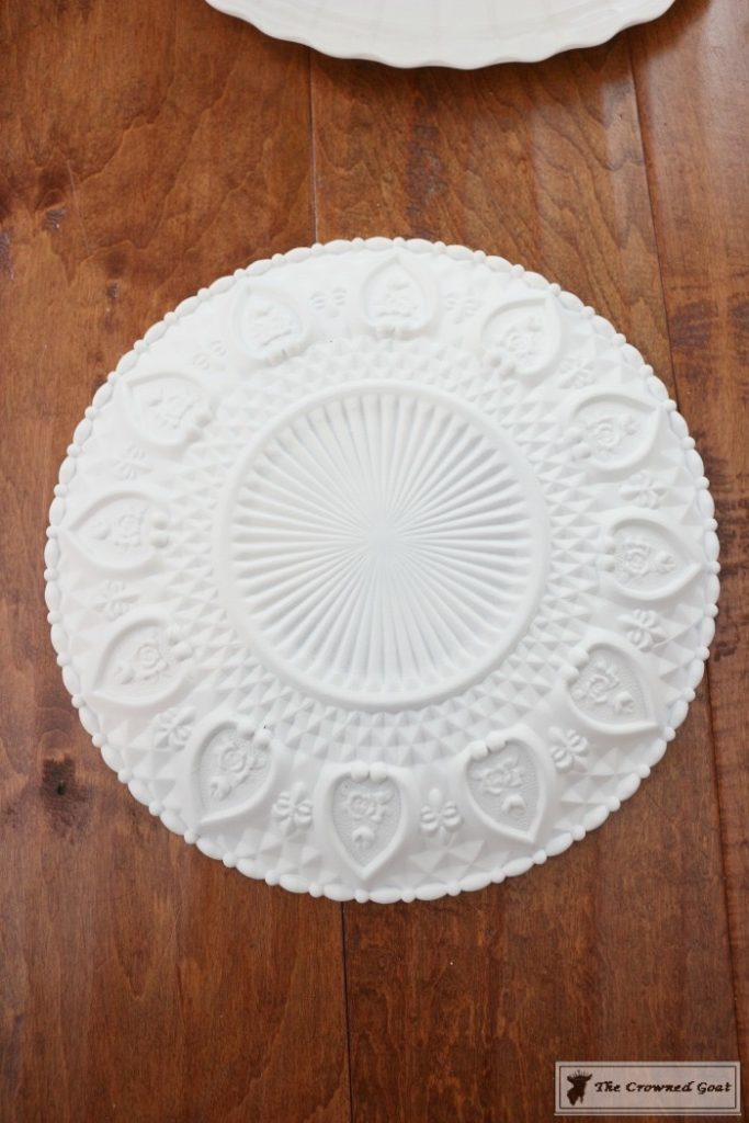 DIY-Faux-Milk-Glass-Cake-Stand-9-683x1024 How to Make a Faux Milk Glass Cake Stand Decorating DIY Fall