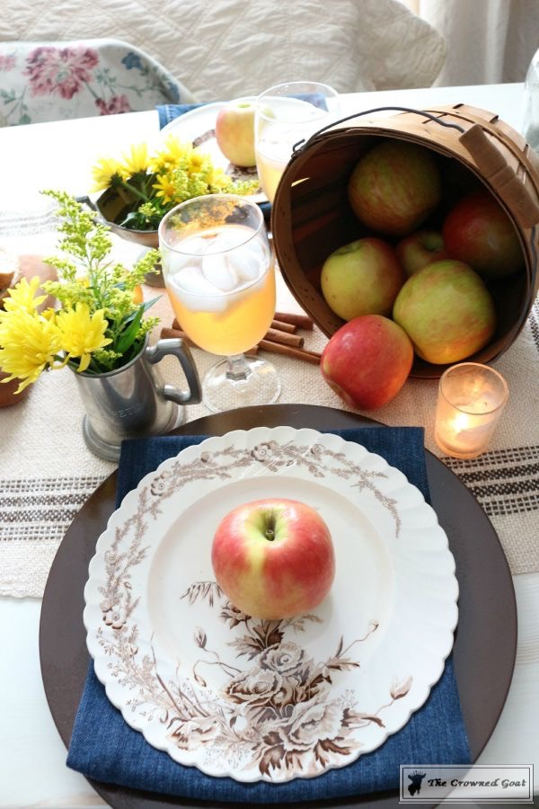 Fall-Apples-Home-Tour-12 Decorating for Fall with Apples Decorating DIY Holidays
