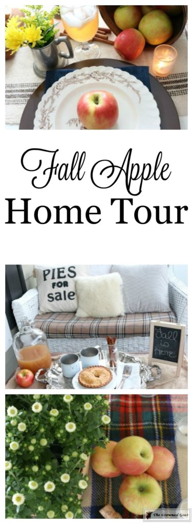 Fall-Apples-Home-Tour-15-377x1024 Decorating for Fall with Apples Decorating DIY Fall Holidays