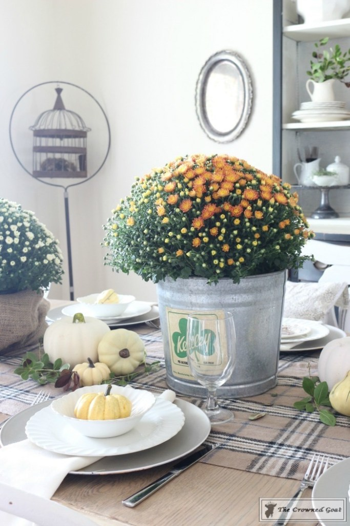 Fall-Decorating-in-the-Dining-Room-8-683x1024 The Busy Girl's Guide to Fall Decorating: The Dining Room Decorating DIY Fall Holidays