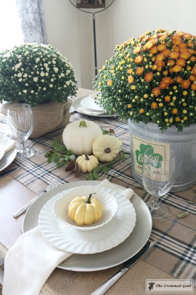 Fall-Decorating-in-the-Dining-Room-9-683x1024 The Busy Girl's Guide to Fall Decorating: The Dining Room Decorating DIY Fall Holidays