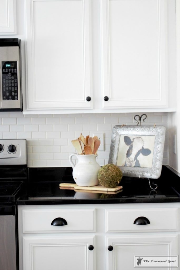 Farmhouse-Kitchen-Makeover-Reveal-11-683x1024 A Simple Cottage Kitchen Makeover: The Reveal Decorating DIY Painted Furniture