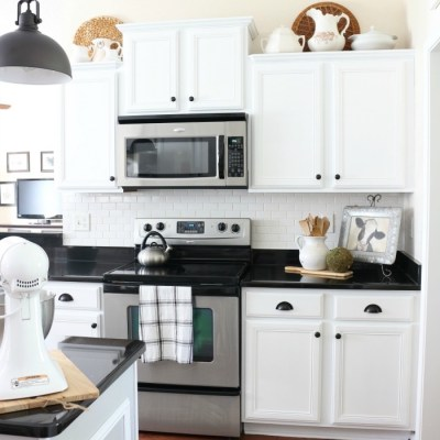 A Simple Cottage Kitchen Makeover: The Reveal