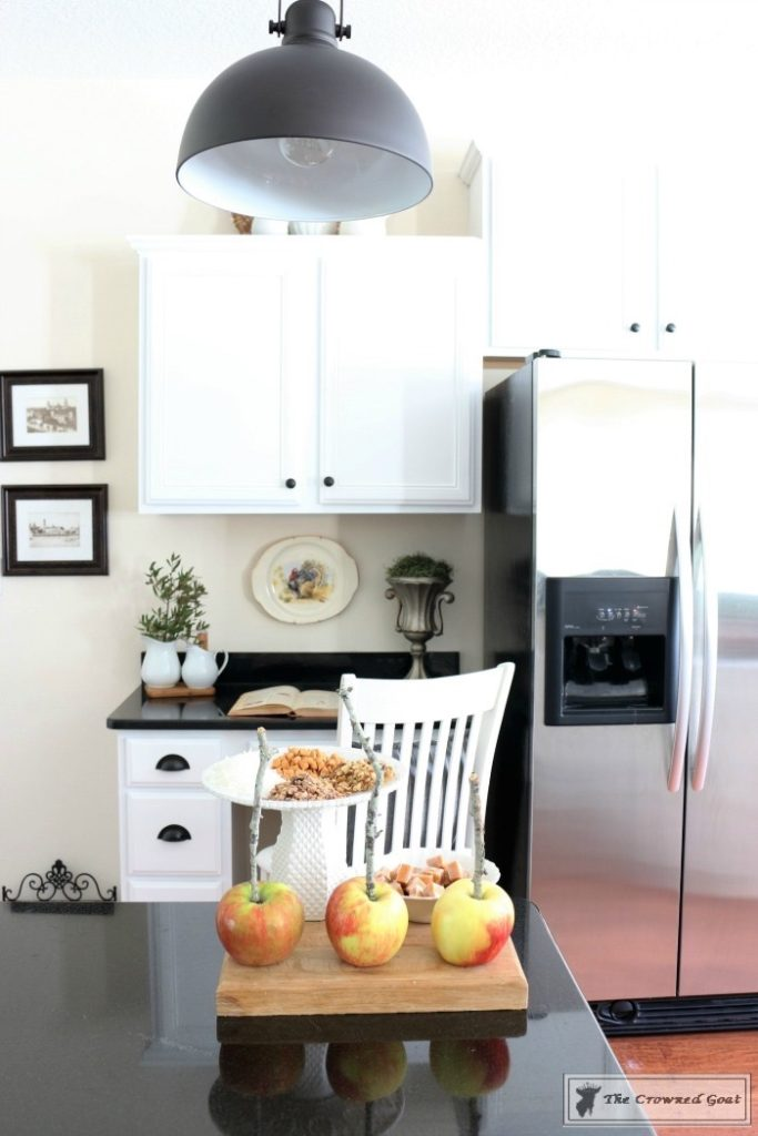 Farmhouse-Kitchen-Makeover-Reveal-9-683x1024 A Simple Cottage Kitchen Makeover: The Reveal Decorating DIY Painted Furniture