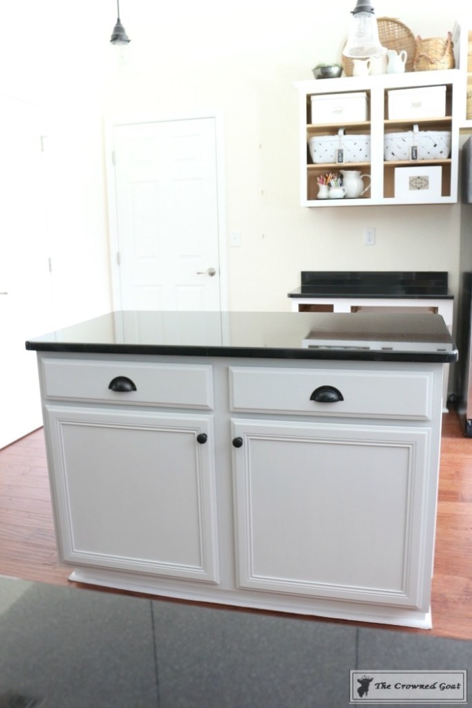 How-to-Customize-a-Kitchen-Island-2-683x1024 How to Customize a Kitchen Island on a Budget DIY Painted Furniture