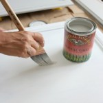 Seagull-Gray-Kitchen-Island-10 Painted Furniture