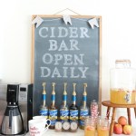 Simple Tips for a Fall Cider Bar