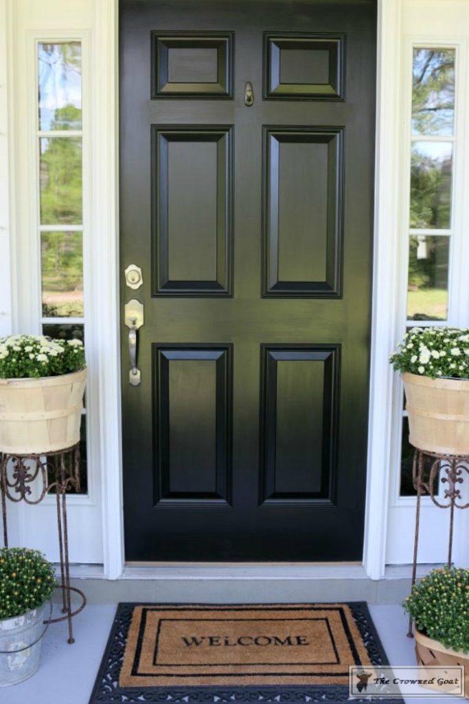 Front-Door-Paint-Review-4-683x1024 Modern Masters Front Door Paint: One Year Later DIY