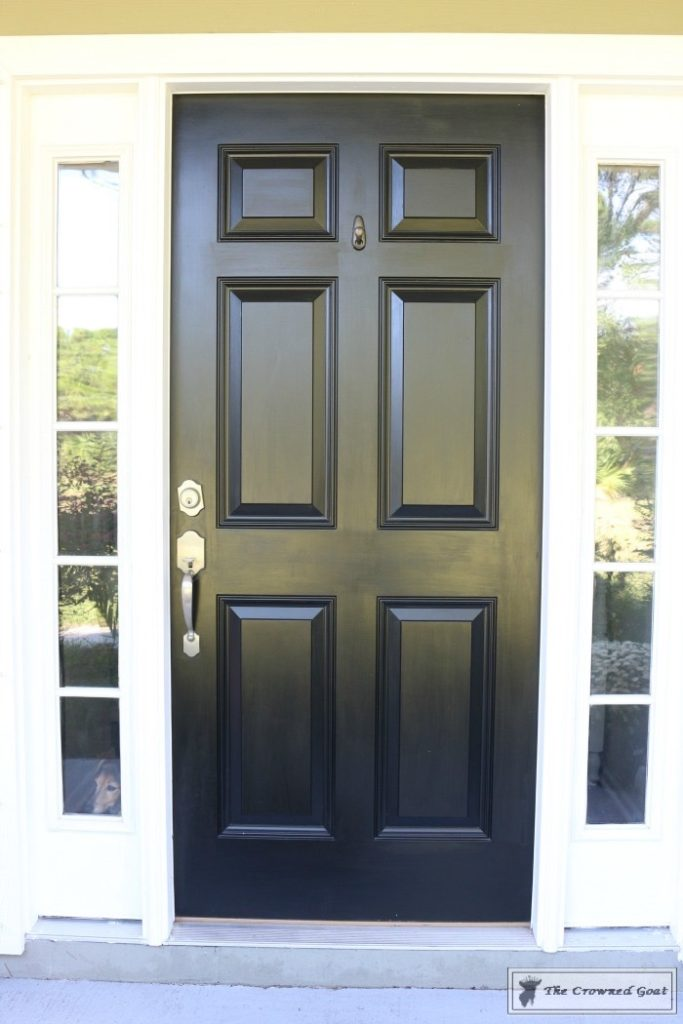 Front-Door-Paint-Review-5-683x1024 Modern Masters Front Door Paint: One Year Later DIY