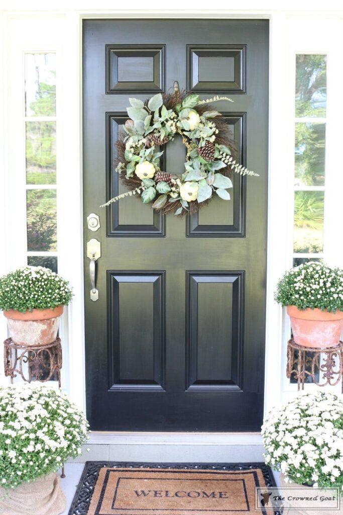 Front-Door-Paint-Review-9-683x1024 Modern Masters Front Door Paint: One Year Later DIY