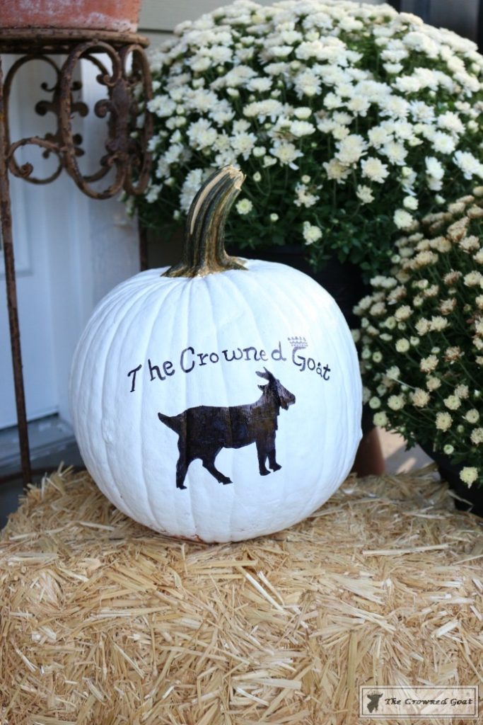 How-to-Customize-a-Painted-Pumpkin-13-683x1024 How to Personalize Pumpkins with Paint Decorating DIY Fall
