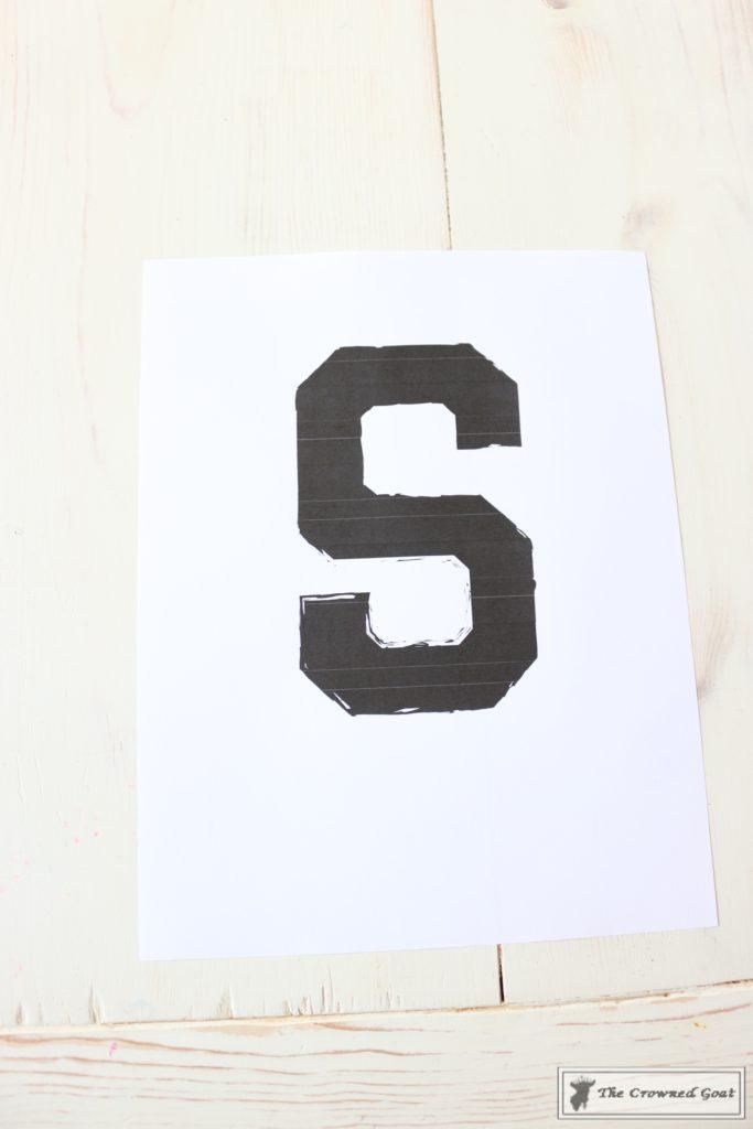 No-Sew-Varsity-Letter-Pillow-3-683x1024 No Sew Varsity Letter Pillow DIY