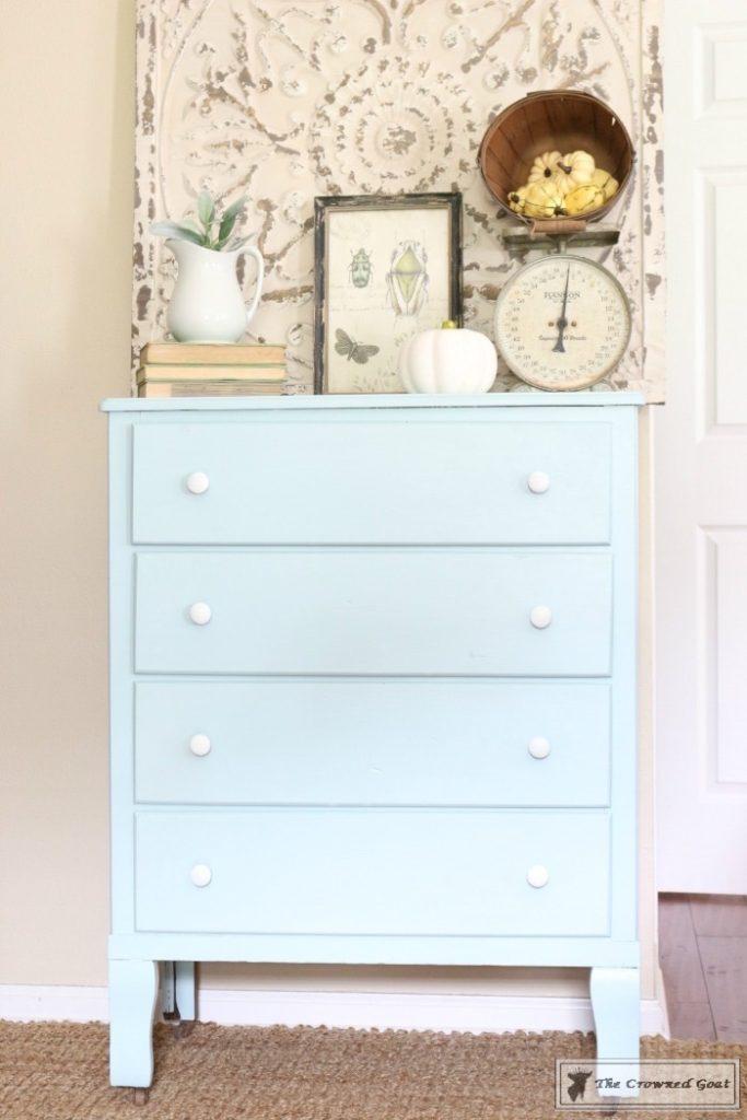 Seaglass-Dresser-Makeover-8-683x1024 Coastal Dresser Makeover DIY Painted Furniture