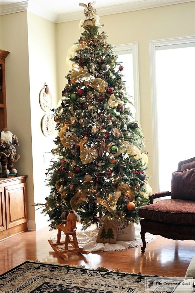 Bliss-Barracks-Traditional-Christmas-Tree-Living-Room-2-683x1024 Traditional Christmas Living Room at Bliss Barracks Christmas DIY Holidays