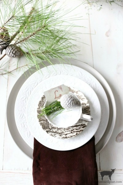 Easy Thanksgiving to Christmas Place Card Holders