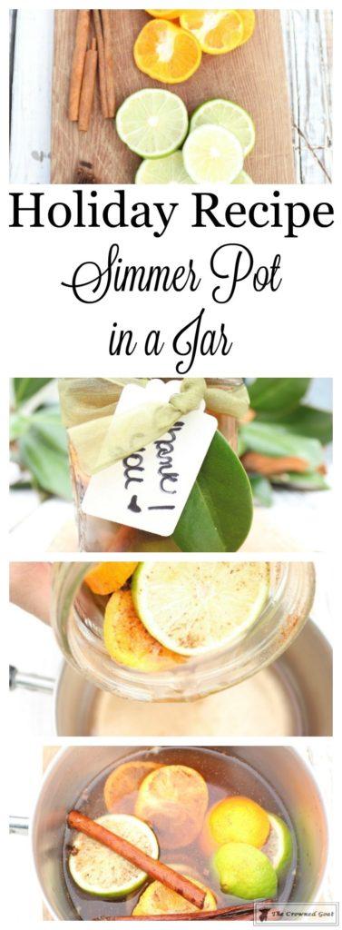 Holiday-Simmer-Pot-in-a-Jar-1-377x1024 Holiday Simmer Pot Recipe & Hostess Gift Idea Christmas DIY Holidays