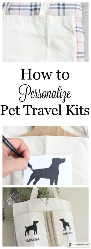 Personalized-Pet-Travel-Kit-1-377x1024 A Personalized Pet Traveling Kit Christmas DIY Holidays