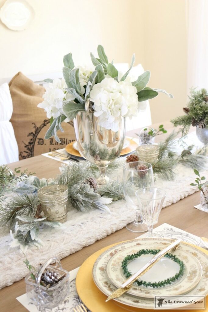 Christmas-in-the-Dining-Room-10-683x1024 Christmas Dining Room at Loblolly Manor Christmas Decorating Holidays