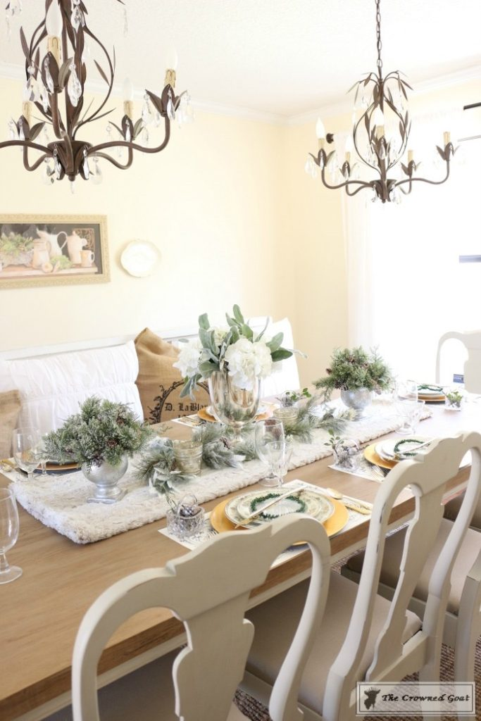 Christmas-in-the-Dining-Room-6-683x1024 Christmas Dining Room at Loblolly Manor Christmas Decorating Holidays