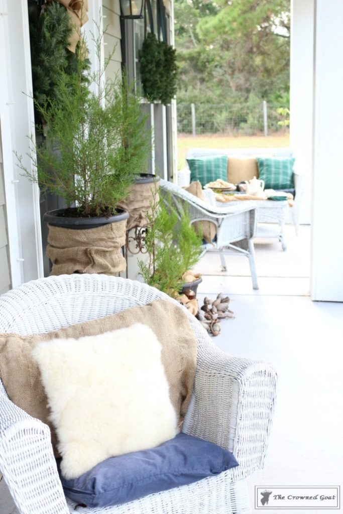 Nature-Inspired-Christmas-Front-Porch-4-683x1024 Nature Inspired Christmas Home Tour Christmas Decorating DIY Holidays