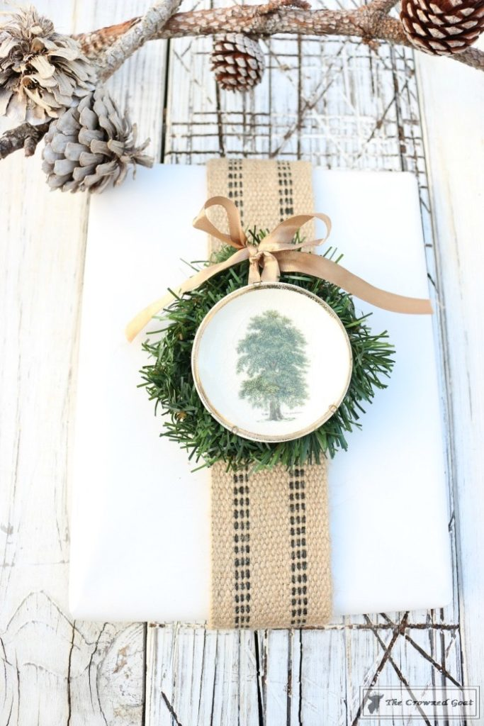 Nature-Inspired-Christmas-Gift-Wrap-20-683x1024 Nature Inspired Christmas Home Tour Christmas Decorating DIY Holidays