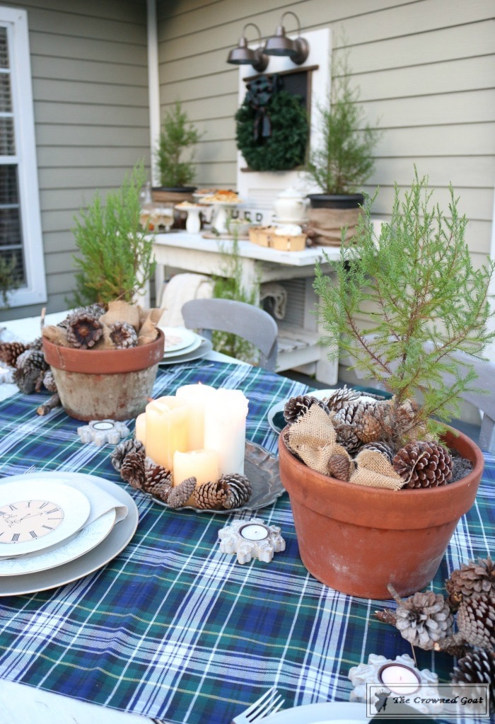 Rustic-New-Years-Tablescape-1 Rustic New Year's Tablescape Christmas DIY Holidays