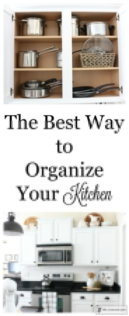 best way to organize a kitchen the best way to organize your kitchen the crowned goat 9238