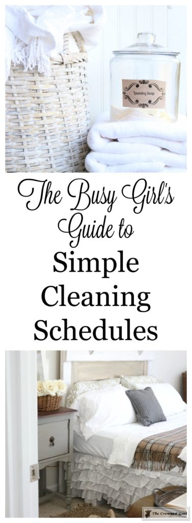 Weekly-Cleaning-Schedule-2-377x1024 Simple Cleaning Routines & Free Printables DIY Organization
