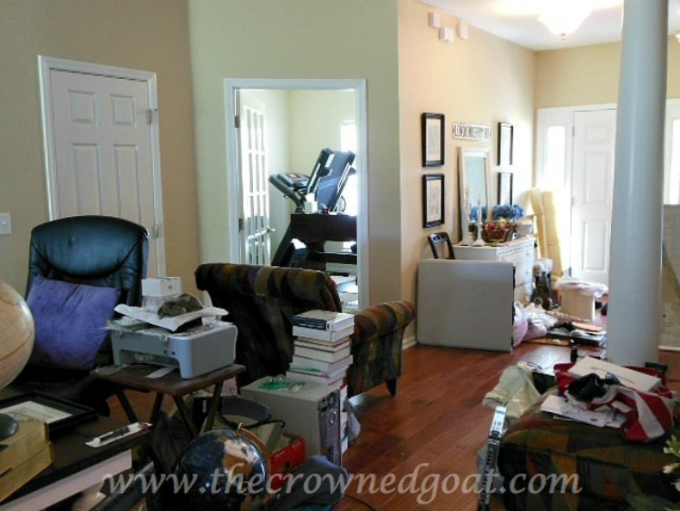 Home-Office-Makeover-Plans-The-Crowned-Goat-2 Home Office Makeover Plans Decorating DIY