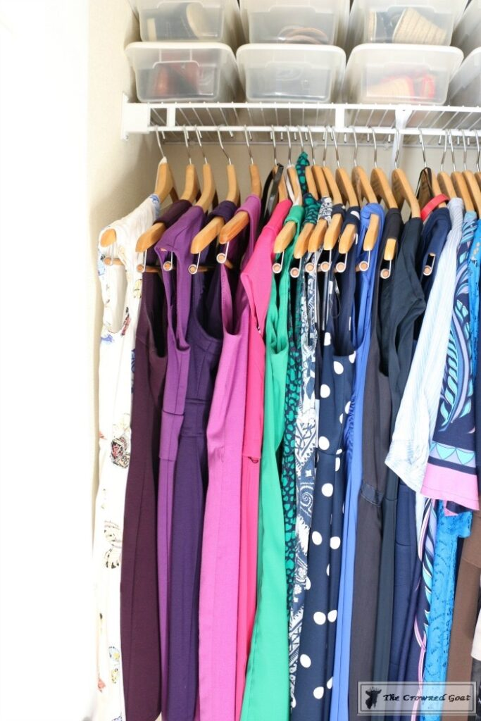 KonMari-Closet-One-Year-Later-11-683x1024 My Closet - One Year After Using the KonMari Method DIY Uncategorized
