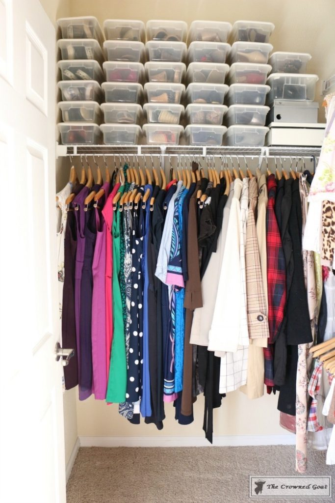 KonMari-Closet-One-Year-Later-7-683x1024 My Closet - One Year After Using the KonMari Method DIY Uncategorized