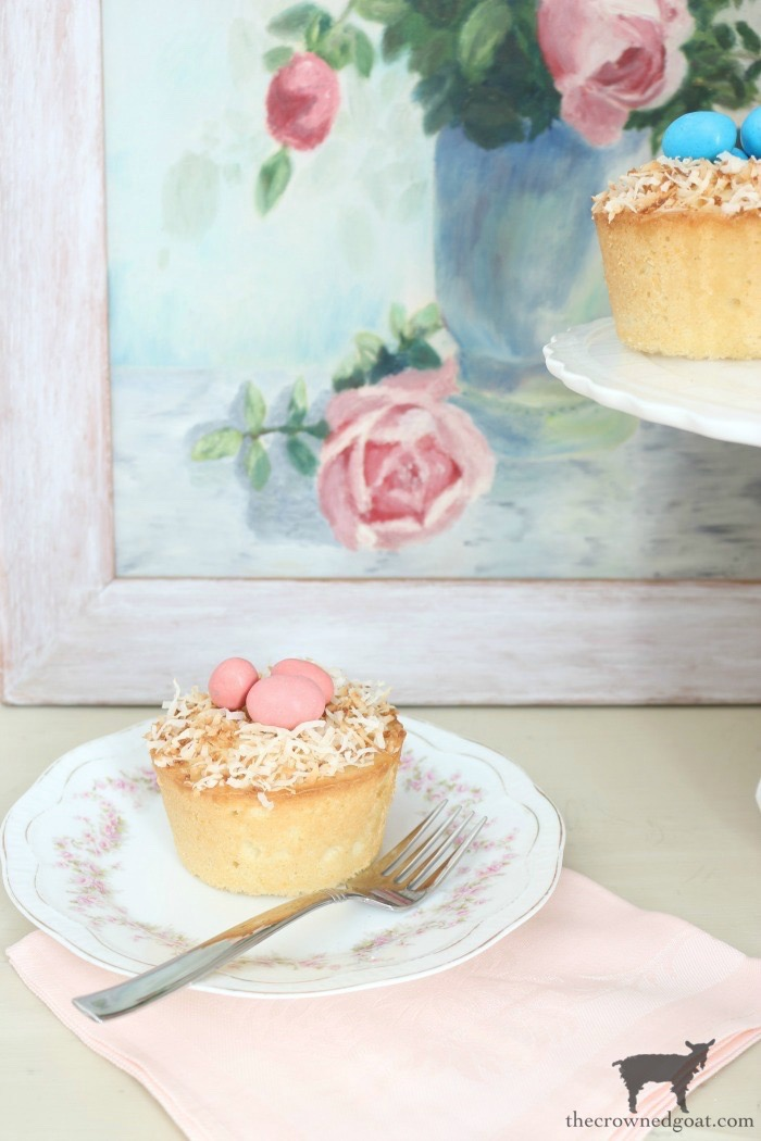 Coconut-Mini-Bundt-Cakes-The-Crowned-Goat-1 Spring Inspiration: Coconut Mini-Bundt Cakes Baking Holidays Spring