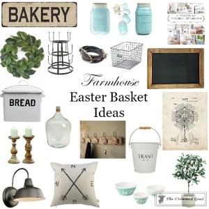 Farmhouse Easter Basket Ideas - The Crowned Goat