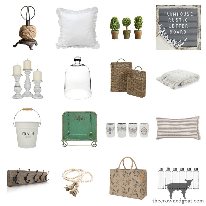 Farmhouse-Finds-on-Amazon-The-Crowned-Goat-5 Farmhouse Easter Basket Ideas Holidays Spring