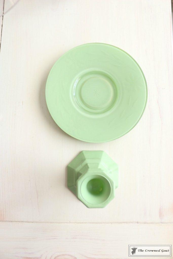 Faux-Jadeite-Cupcake-Stands-8-683x1024 Jadeite Inspired Cupcake Stands Crafts DIY