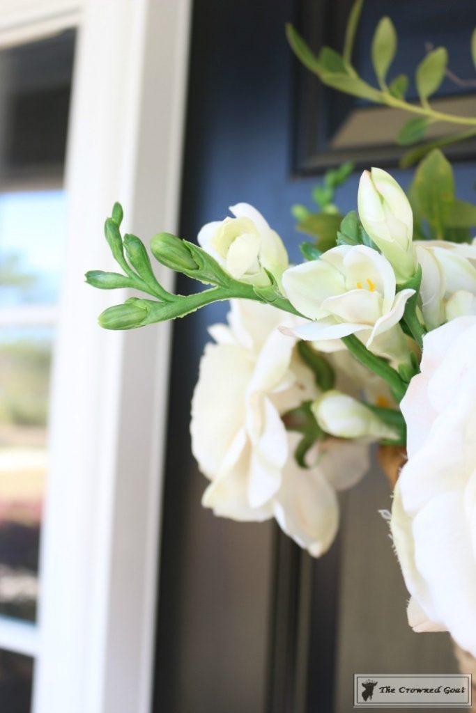 How-to-Make-a-Spring-Flower-Basket-10-683x1024 Spring Front Door Flower Basket DIY