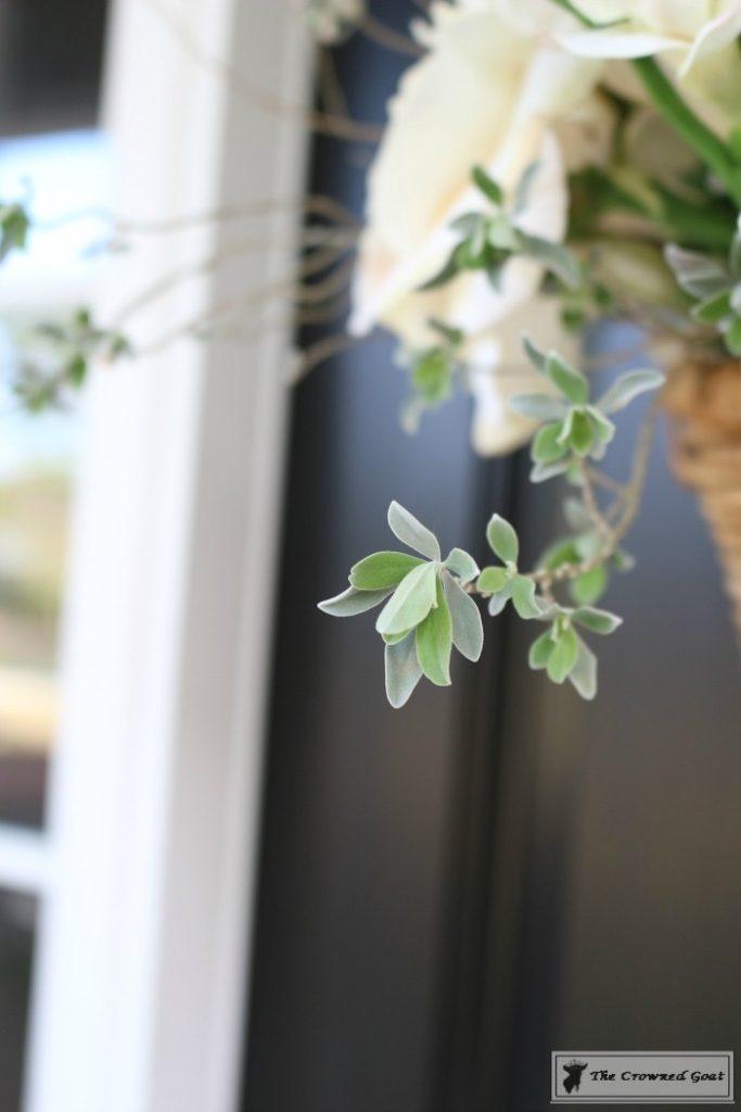 How-to-Make-a-Spring-Flower-Basket-11-683x1024 Spring Front Door Flower Basket DIY
