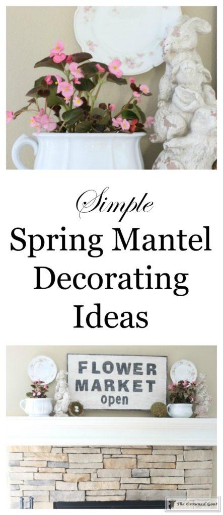 Simple Spring Mantel Ideas-1