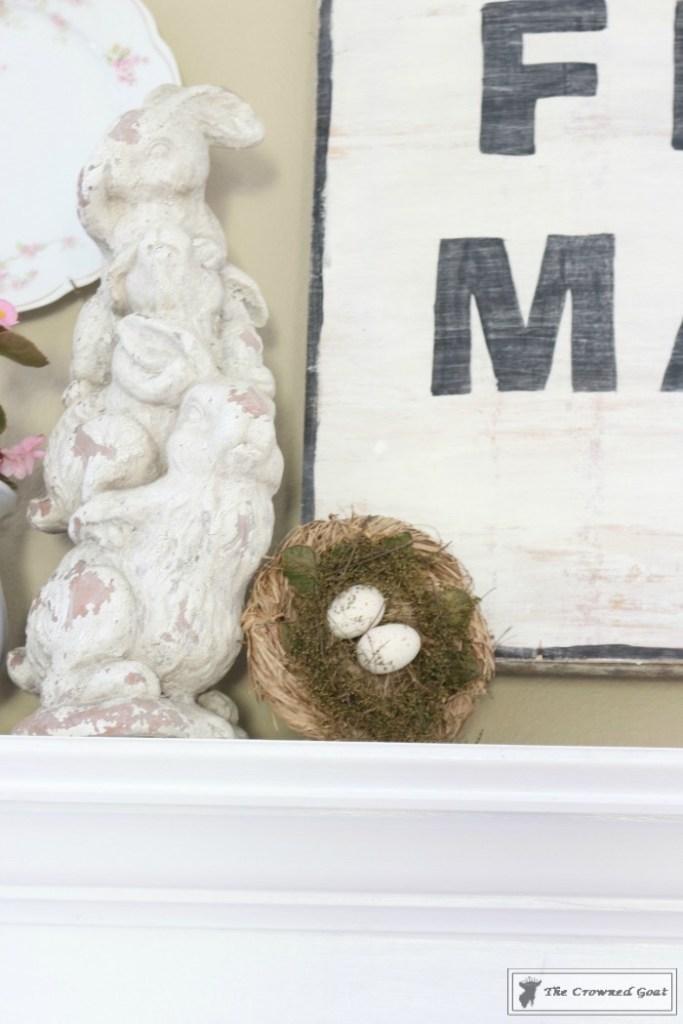 Simple-Spring-Mantel-Ideas-6-683x1024 Simple Spring Mantel Holidays Spring