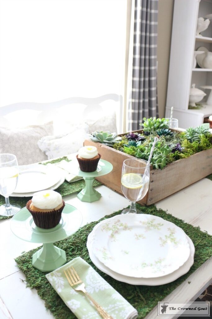 Spring-Inspired-Tablescape-2-683x1024 Spring Inspired Tablescape Decorating DIY Holidays