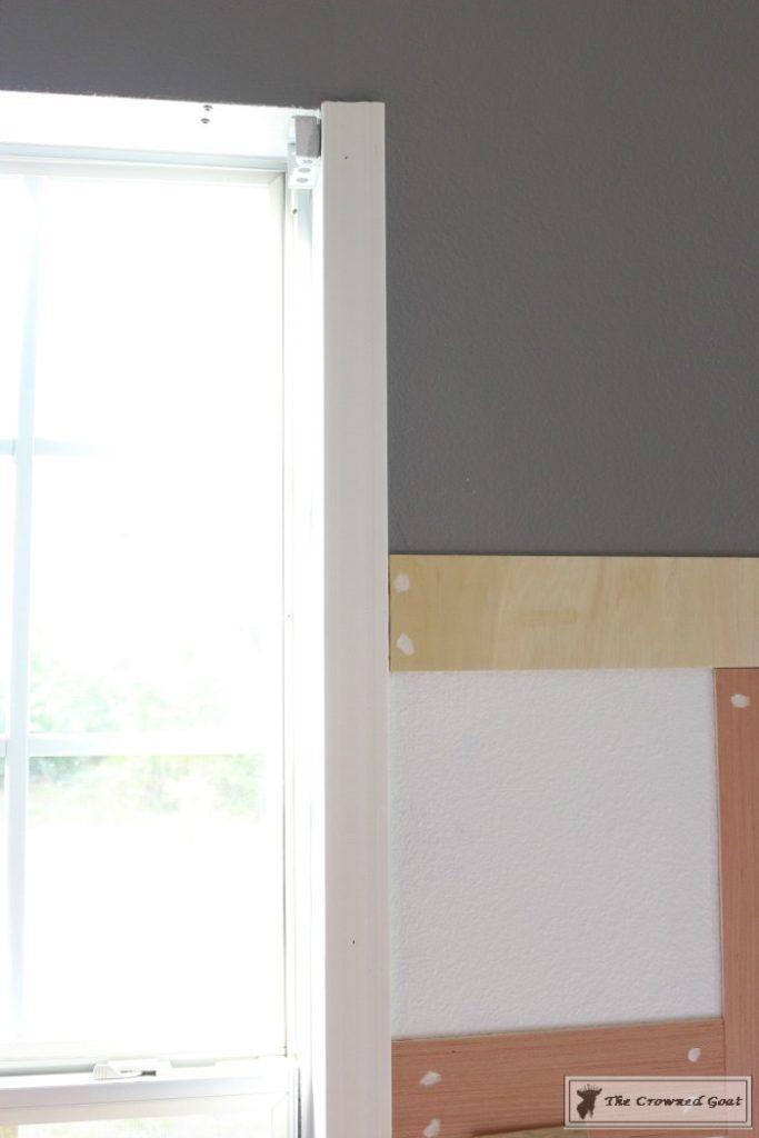 Budget-Friendly-Window-Trim-7-683x1024 A $30 Window Upgrade DIY One_Room_Challenge