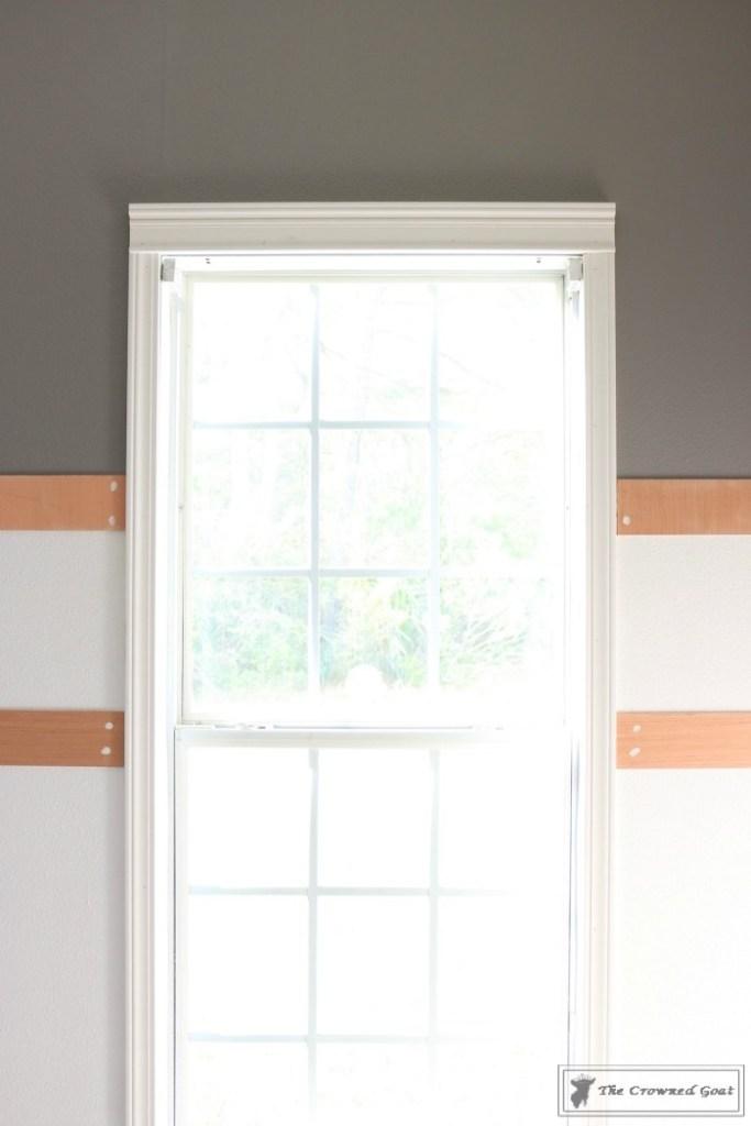 Budget-Friendly-Window-Trim-9-683x1024 A $30 Window Upgrade DIY One_Room_Challenge