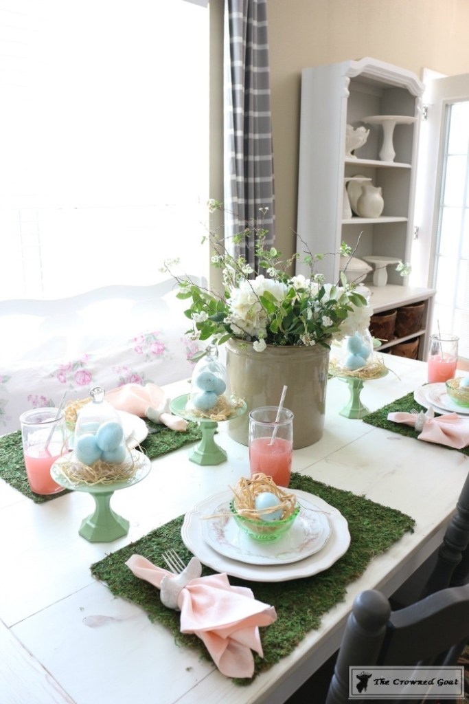 Colorful-Easter-Tablescape-17-683x1024 Colorful Easter Tablescape Decorating Holidays Spring