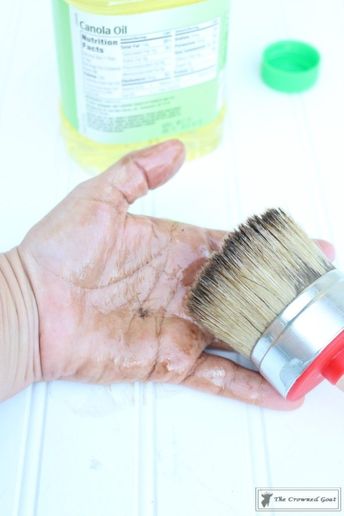 Easily-Clean-Wax-Brushes-4-683x1024 Cleaning Wax Brushes with Ease DIY Painted Furniture