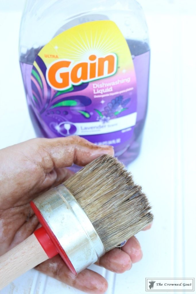 Easily-Clean-Wax-Brushes-5-683x1024 Cleaning Wax Brushes with Ease DIY Painted Furniture