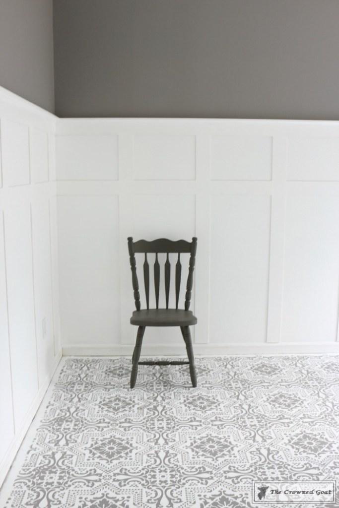 Easily Stencil a Concrete Floor-16