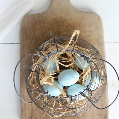 The Easiest Way to DIY Robin Eggs