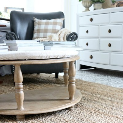 Ballard Designs Hack: Tufted Bench Makeover