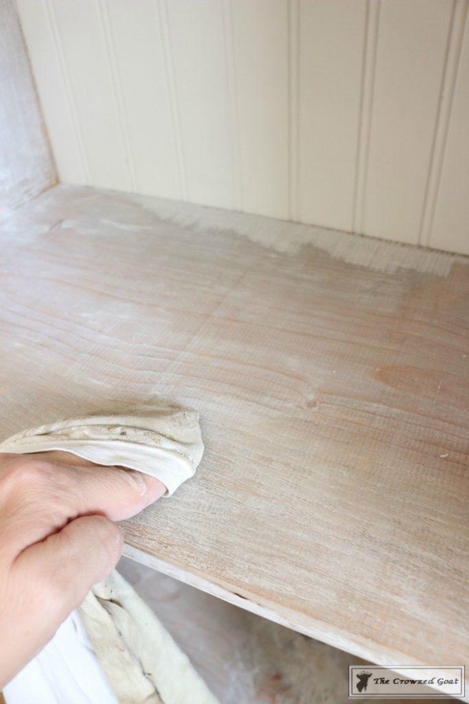 How-to-Whitewash-Farmhouse-Furniture-10-683x1024 Adding Whitewash to Farmhouse Furniture Decorating DIY Painted Furniture